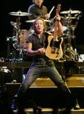 Bruce Springsteen et son E Street Band exécutent photos libres de droits