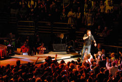 Bruce Springsteen's concert Royalty Free Stock Photography