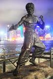 Bruce statua Lee Zdjęcie Royalty Free