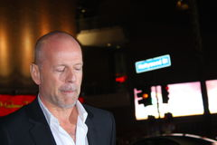 Bruce Willis stock foto's