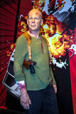 Bruce Willis as John McClane in the Madame Tussaud  wax museum, London Stock Photos