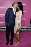 Bruce Willis e Emma Heming foto de stock