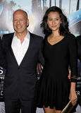 Bruce Willis and Emma Heming Royalty Free Stock Images