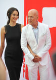 Bruce Willis & Emma Heming Royalty Free Stock Photos