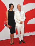 Bruce Willis & Emma Heming Stock Images