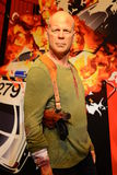 Bruce Willis - Hall of celebrities. Hall of celebrities expo at Madame Tussauds museum in London Stock Photography
