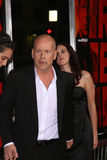 Bruce Willis, Rumer Willis stockfotos