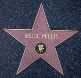 Bruce Willis star Royalty Free Stock Image