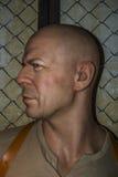 Bruce Willis Wax Figure Arkivbild