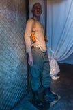 Bruce Willis wosku postać Obraz Royalty Free