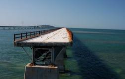 Bruch in der Brücke Lizenzfreies Stockbild
