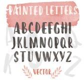 Bruch a peint des lettres ENV 10 Photos stock