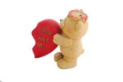 Bruch-Teddybären backten Lehm Lizenzfreie Stockfotos