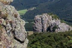 Bruchhauser-steine entsteint Deutschland Stockbilder