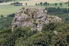 Bruchhauser steine stones germany. The bruchhauser steine stones germany stock image