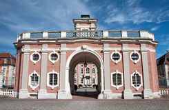 Bruchsal palace in Germany Stock Images