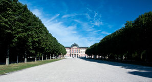 Bruchsal palace in Germany Stock Photography