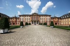 Bruchsal Palace-Germany Royalty Free Stock Photos