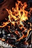 bruciarsi fotografia stock libera da diritti