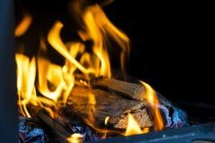 bruciarsi immagine stock
