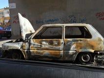 bruciato Fotografia Stock Libera da Diritti