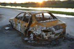 bruciato fuori Immagini Stock