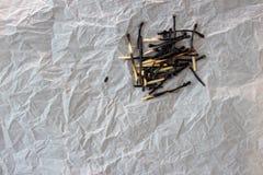 Bruciato fuori abbina Fotografia Stock Libera da Diritti
