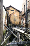 Bruciato fuori a casa Fotografia Stock Libera da Diritti