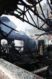 Bruciato fuori a casa Immagini Stock Libere da Diritti
