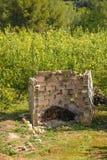 Bruciatore agricolo Fotografia Stock