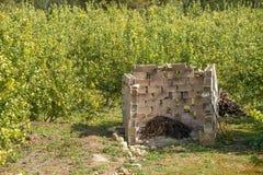 Bruciatore agricolo Fotografie Stock