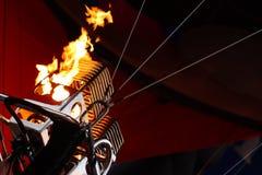 Bruciatore dell'aerostato immagine stock