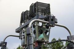 Bruciatore dell'aerostato di aria calda Immagine Stock Libera da Diritti