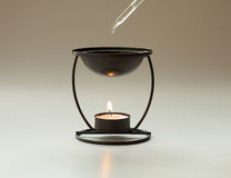 Bruciatore di Aromatherapy fotografie stock