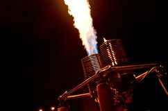 Bruciatore di Baloon Immagine Stock