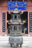 Bruciatore di incenso buddista Fotografia Stock