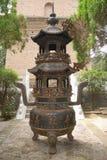 Bruciatore di incenso buddista con Immagine Stock