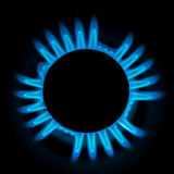 Bruciatore a gas fotografie stock libere da diritti