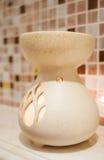 Bruciatore a nafta di theraphy dell'aroma della porcellana Fotografia Stock Libera da Diritti