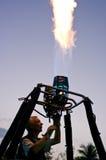 Bruciatore pilota di prova dell'aerostato Fotografie Stock Libere da Diritti