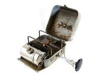 Bruciatore portatile d'annata - primus Fotografia Stock