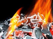 Bruciatura fotografia stock