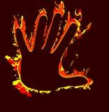 Bruciatura Fotografie Stock Libere da Diritti