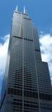 Bruciature Willis Tower in Chicago immagine stock