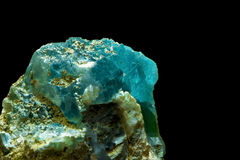 Brucite. The brucite (but look like a fluorite, aquamarine  and others Royalty Free Stock Images