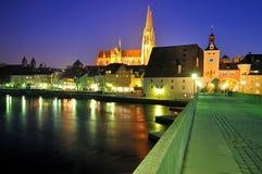 Brucktor City Gate, Regensburg Royalty Free Stock Image