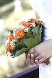 brud- blomma Arkivfoto