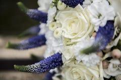 Brud- blommabukett Royaltyfria Bilder