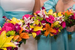 brud- blommor Arkivbild