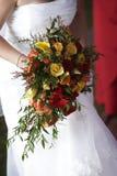 brud- bröllop för bukett Royaltyfria Bilder